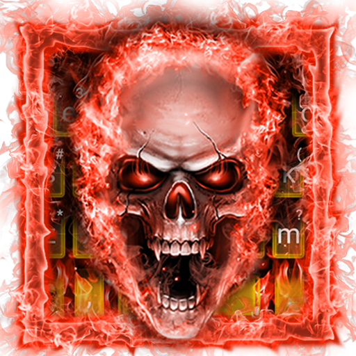 Gloomy Devil Keyboard Theme Icon