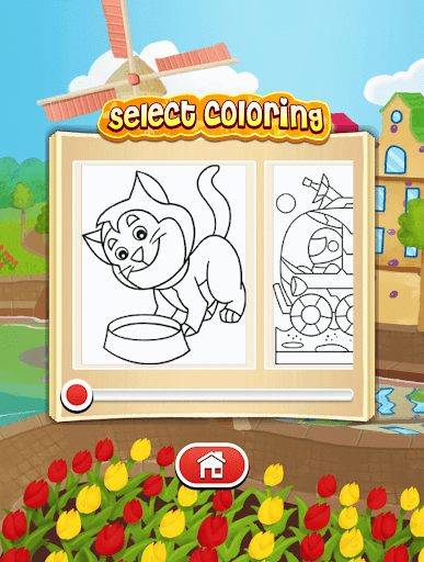 Dora Coloring Book Games Apk Free Download For Android PC Windows Screenshot