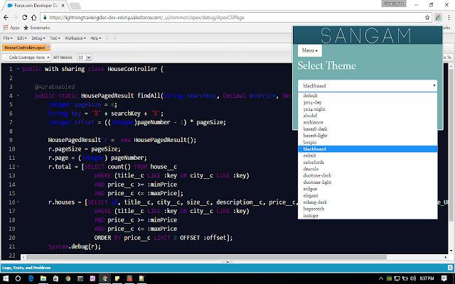 SANGAM : Enhance Salesforce Developer Console