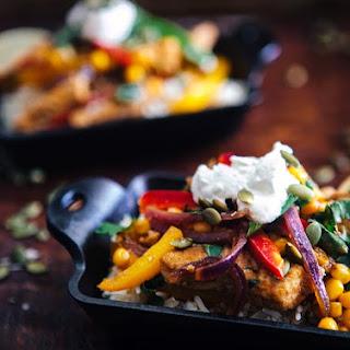 Spiced Mexican Pork and Veggie Stir Fry
