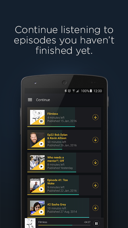 Acast - Podcast Player screenshot #4