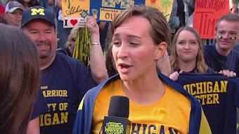 College Madness - Michigan vs. Ohio State