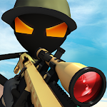 Stickman Battle : Online Shooter 3D Icon