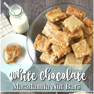 White Chocolate Macadamia Nut Bars Recipe