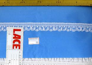 Photo: №243502ラッセルフリル:巾25mm