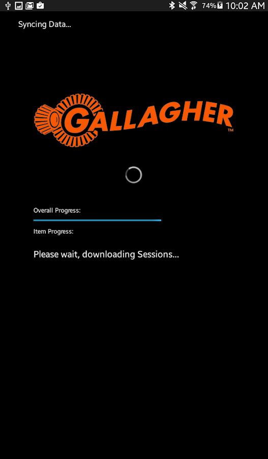 Gallagher Animal Dashboard- screenshot