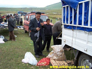 Photo: Köprülü Yaylasında kurulan Pazar