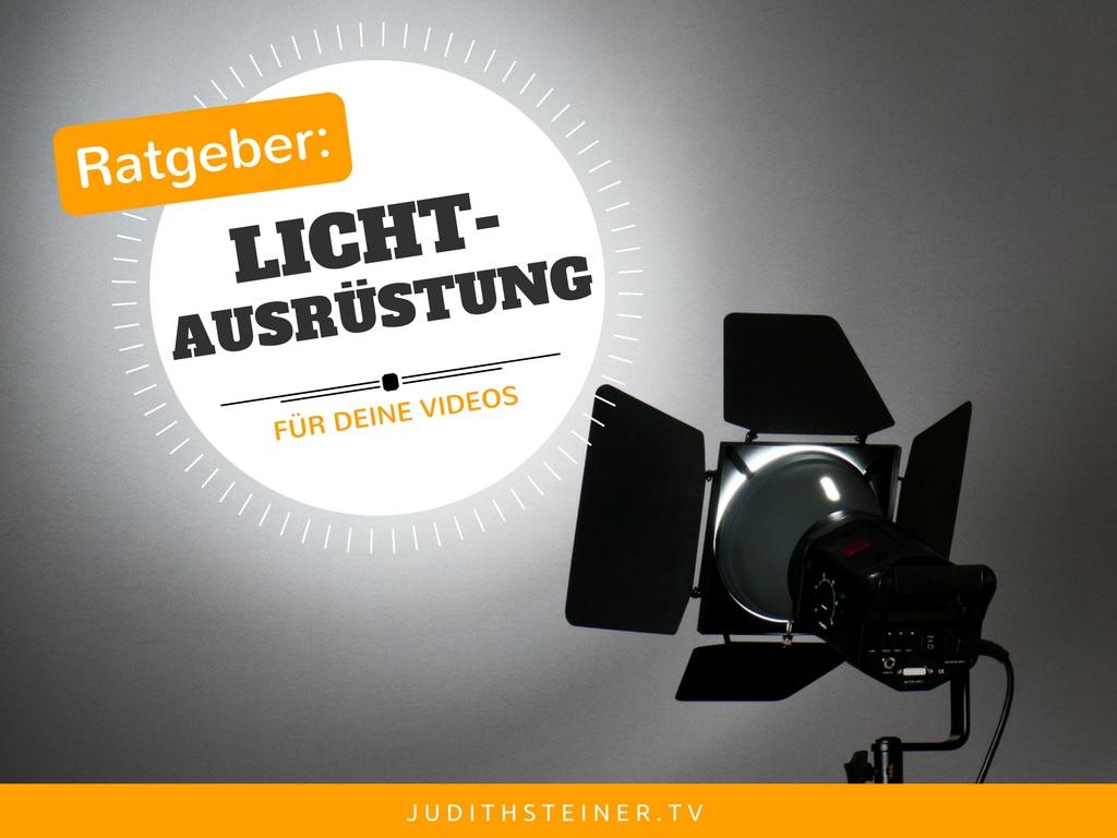 Ratgeber Licht-Ausrüstung