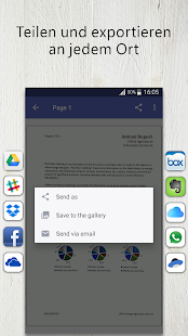 FineScanner - Free PDF Document Scanner App + OCR Screenshot