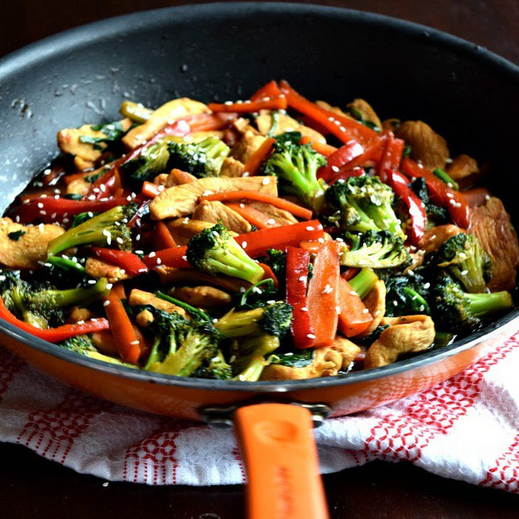20 Minute Chicken Stir Fry