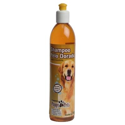 Champu Para Mascotas Puppy Pelo Dorado 390Ml