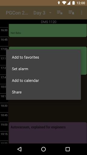 玩免費遊戲APP|下載PGCon Schedule app不用錢|硬是要APP