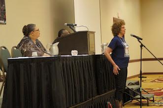 Photo: Chicago Teacher's Union President Karen Lewis and Anne Feeney
