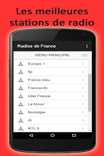 Francia Radios stations FM & AM online for free - náhled