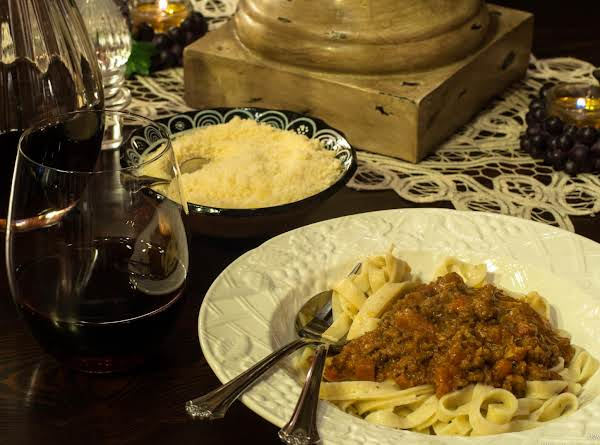 Lamb & Pork Bolognese Recipe