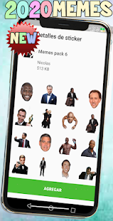New Memes 2020 Stickers Screenshot