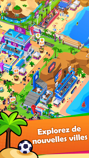 Sports City Tycoon Game - Créez un empire sportif APK MOD (Astuce) screenshots 2