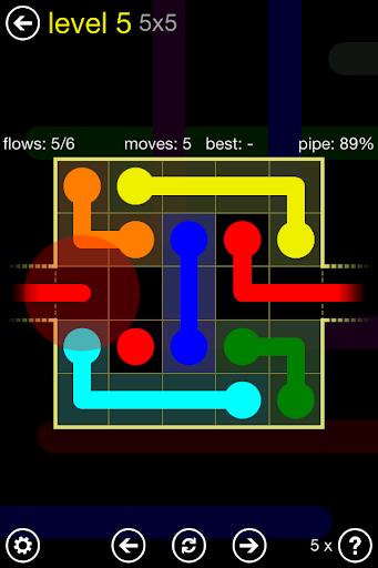 Flow Free: Warps 2.0 screenshots 1