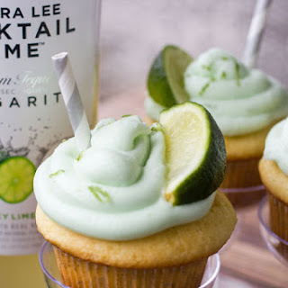 Key Lime Margarita Cupcakes.