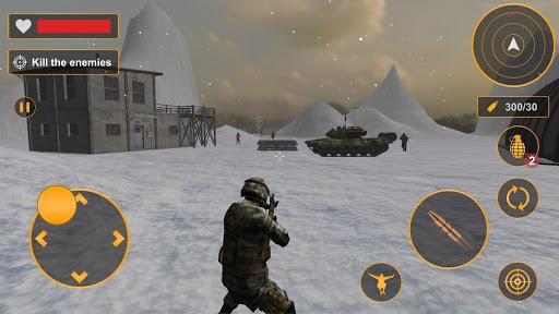 Combat militaire ru00e9el: jeux de tir gratuits hors  captures d'u00e9cran 2