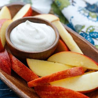 Cinnamon Dipping Sauce with Apples