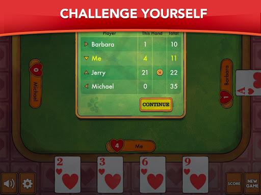 Hearts - Card Game Classic filehippodl screenshot 9