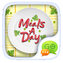 GO SMS MEALS A DAY THEME icon