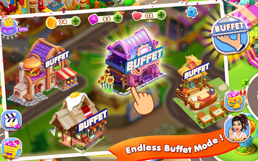 Code Triche Restaurant Fever: Chef Cooking Games Craze APK MOD screenshots 2