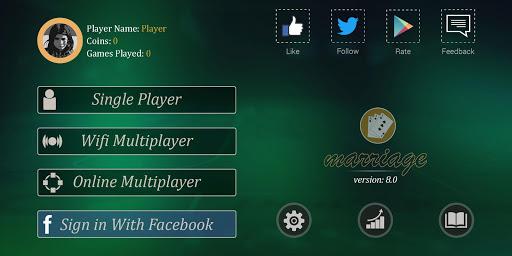 Marriage Card Game  captures d'écran 1