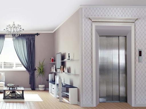 Mẫu cửa tầng thang máy đẹp, sang trọng 2021