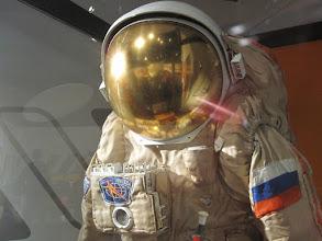 Photo: Orlan & helmet close-up