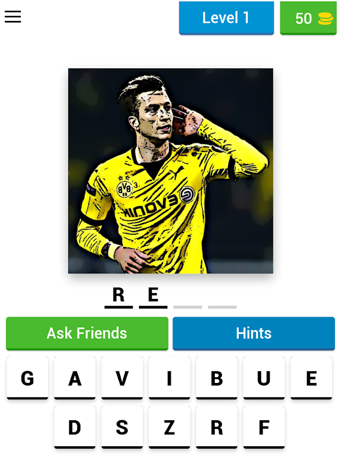 Guess The Football Player - #1 Sport Quiz ⚽ Android 9