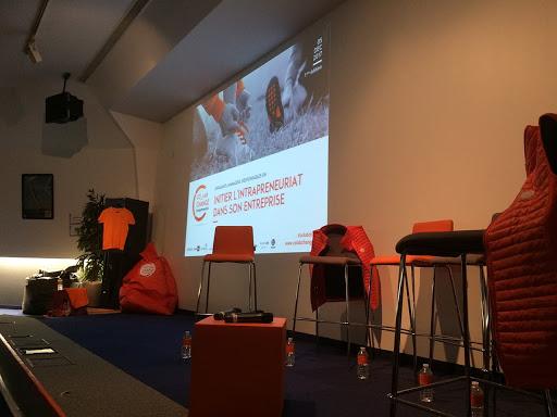 Scénarisation pédagogique - Scénographie pédagogique - Colab Change - Evenement autour de l'intrapreneuriat en entreprise en collaboration avec Pusle On et Digital Lead Grégory Delemezure - Nantes 44 Pays de la Loire