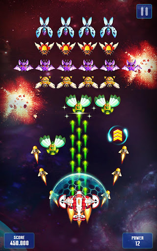 Space Shooter: Galaxy Attack  trampa 1