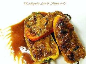Spicy Bbq Pulled Pork Stuffed Pepper Mini's Recipe