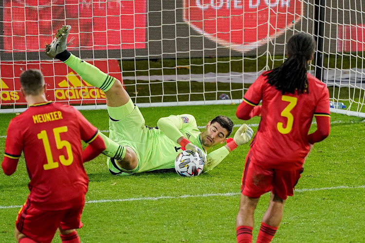 """Thibaut Courtois est optimiste en vue de l'Euro : """"Nous pouvons être prétendants à la victoire"""""""