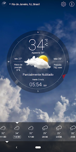 Previsão do tempo vivo screenshot 9