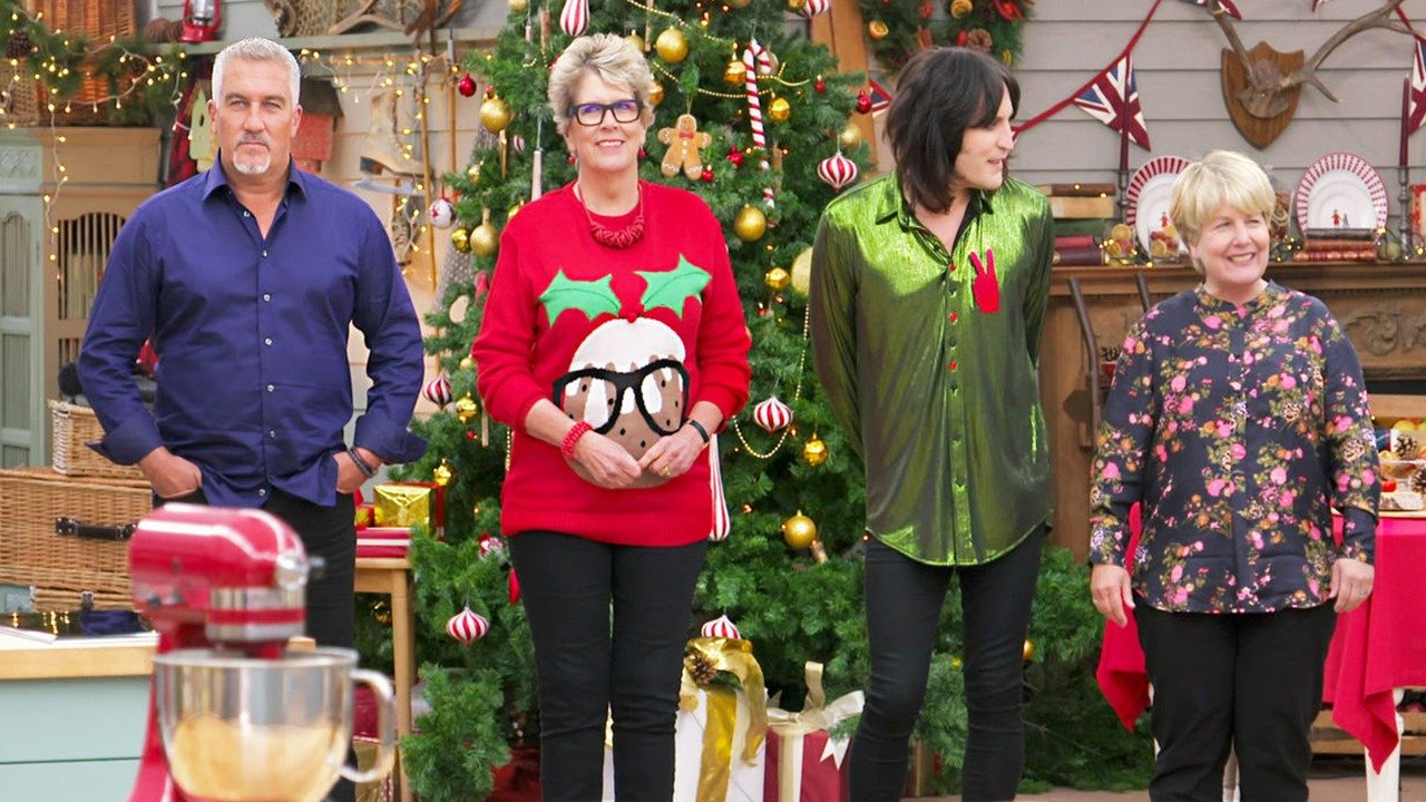 Watch The Great British Baking Show: Holidays live