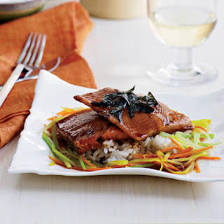 Japanese-Style Trout with Dashi.