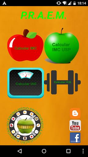 Calculadora IMC - ICQ - IAC 1.1 screenshots 1