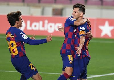 Le Barça respire encore