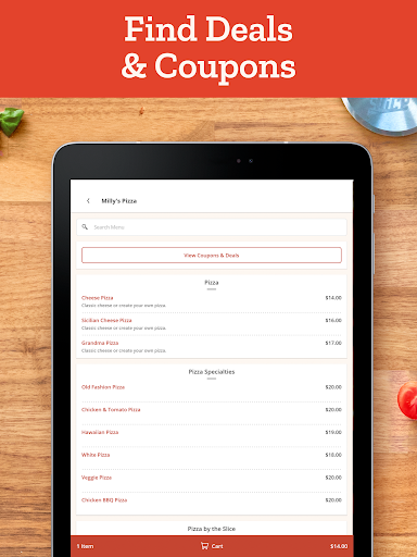 Slice: Order Local Pizza, Delivery & Pickup Deals  screenshots 7