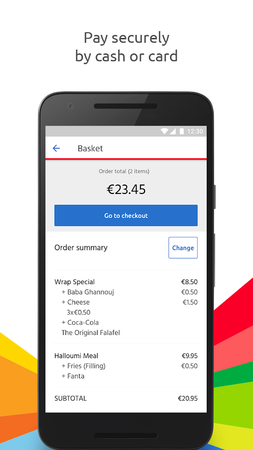 Just Eat – Order Takeaway- screenshot