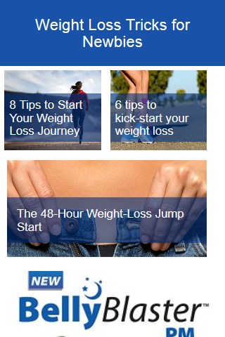 Weight Loss Tricks for Newbies
