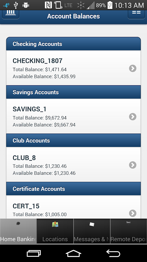 MyCom Federal Credit Union- screenshot