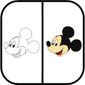 Drawing Mickey Mouse -  Mickey