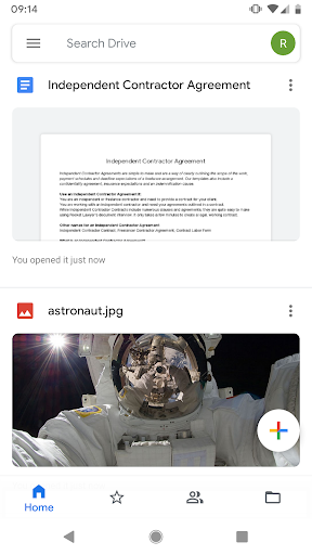 Google Docs screenshot 1