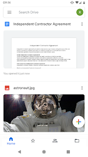 Google Диск Screenshot