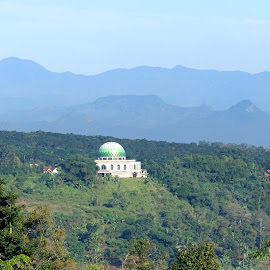 Mosque at the Hill by Mulawardi Sutanto - Buildings & Architecture Places of Worship ( hill, mosque, padalarang, travel, indonesia, bandung )