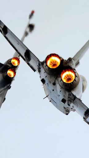 Aircraft.Fighter jet.Wallpaper